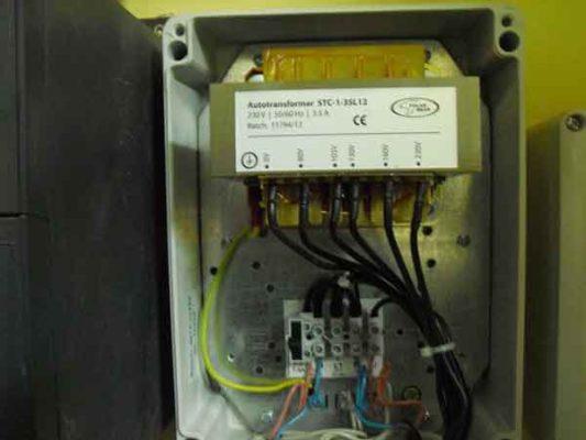 Модуль управления канальным осевым вентилятором