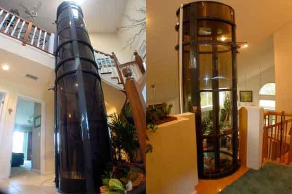 Лифт домашний - пневматические конструкции подъёмников