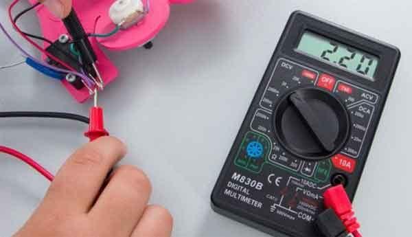 Проверка микропереключателя цифровым мультиметром
