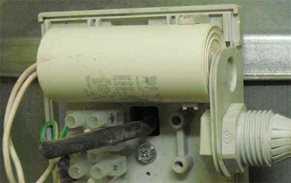 Пусковой конденсатор канального вентилятора