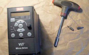 Частотный преобразователь VLT: как разобрать для обслуживания и ремонта?