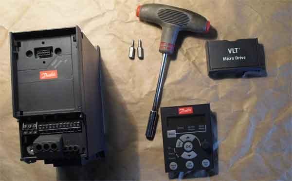 Частотный преобразователь VLT разборка прибора
