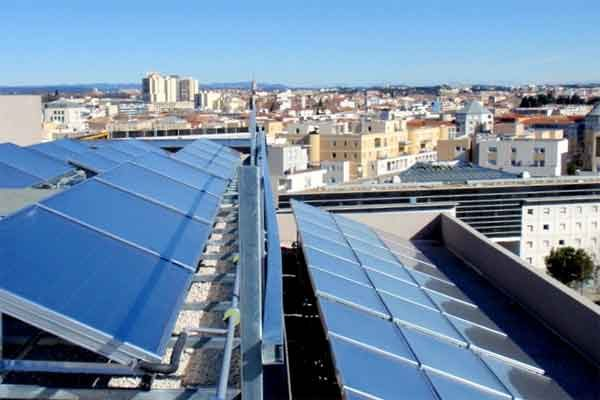 Солнечное охлаждение: система кондиционирования воздуха от Солнца