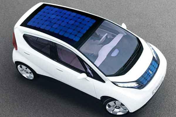 Концепт кар Ford C-MAX Solar Energi