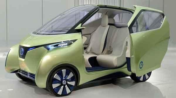 Концепт кар Nissan PIVO 3
