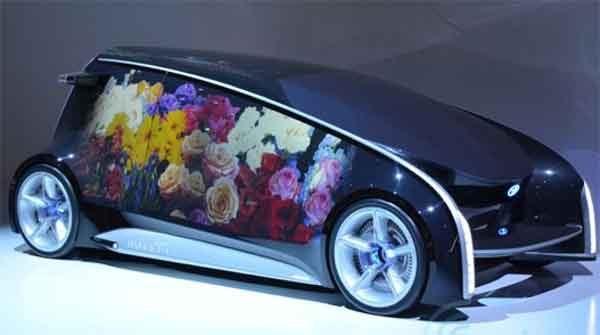 Концепт кар Toyota Fun Vii