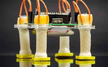 Мягкий трубчатый электрический привод для робота изобрели инженеры