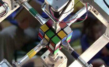 Робот «Dactyl» разложил кубик Рубика но так и не стал универсальной машиной