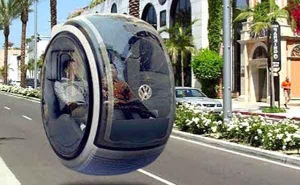 Концептуальная идея Volkswagen Hover Car