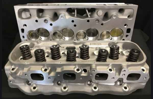 Головка цилиндров автомобильного мотора - алюминиевый вариант