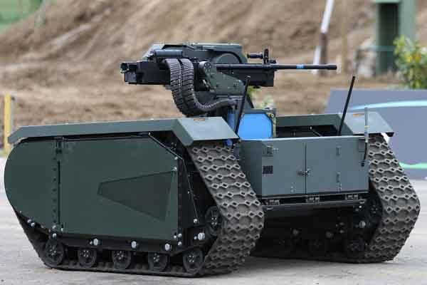 Беспилотное транспортное средство под двумерный ландшафт для армии США