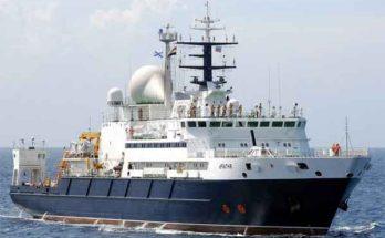«Янтарь» - российское океанографическое судно сильно беспокоит военных США