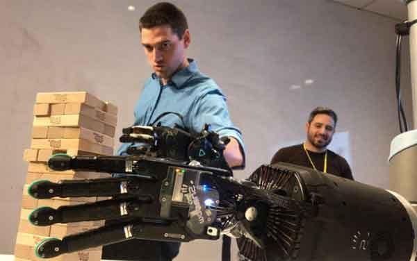 Автоматизация стройки при помощи техники Telerobotics