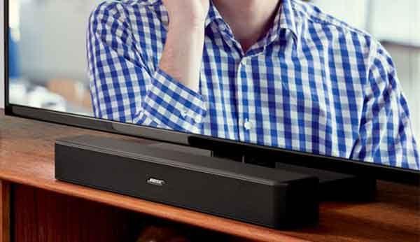 """Звуковая телевизионная панель """"Bose solo-5 tv sound system"""" из ТОП-5"""