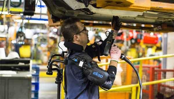 """Экзоскелет """"Ekso Vest"""" обеспечивает лёгкость и удобство сборки"""
