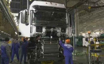 Российский автомобиль «Камаз К-5» полноценно занял сборочный конвейер