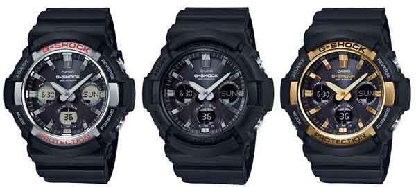 Наручные часы Casio G Shock Tough Solar GAS-100