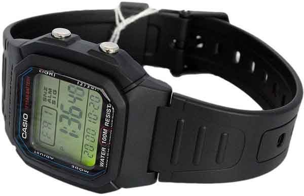 Наручные часы Casio W800H-1AV