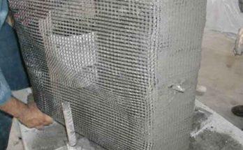 Строительный цементный раствор армированный текстилем - это