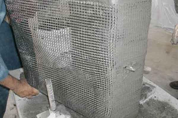 бетон текстиль