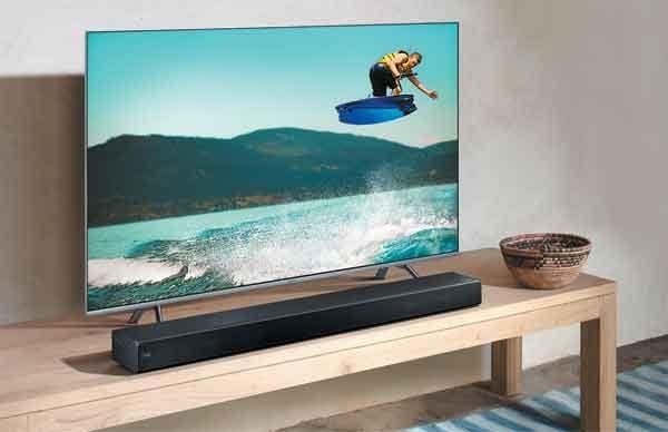 Саундбар современного телевизора