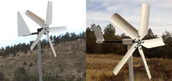 Ветряная домашняя турбина - примеры конструкций не выше 50 ватт