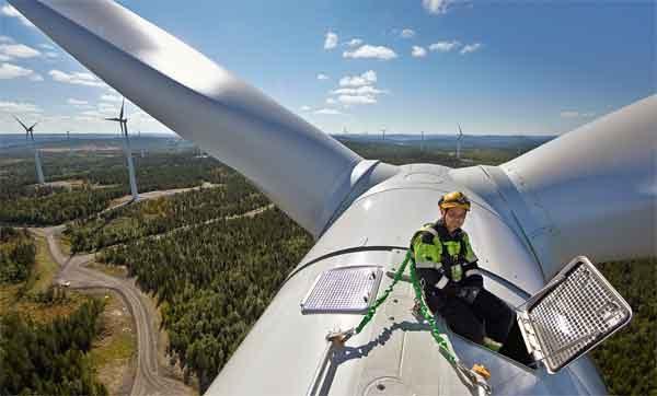 Ветряные турбины - конструкция промышленного назначения