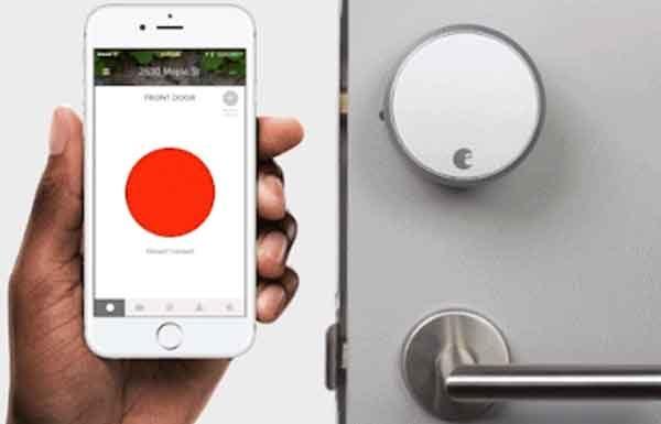 Умный замок входной двери модель August Home Smart Lock Pro Connect