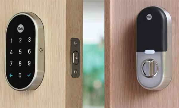 Замок дверной умный модели Nest x Yale Smart Lock