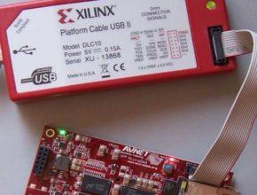 Программатор платформа USB II или просто настройщик HW-USB-II-G для JTAG систем