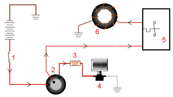 Автокондиционер - схема работы термостата