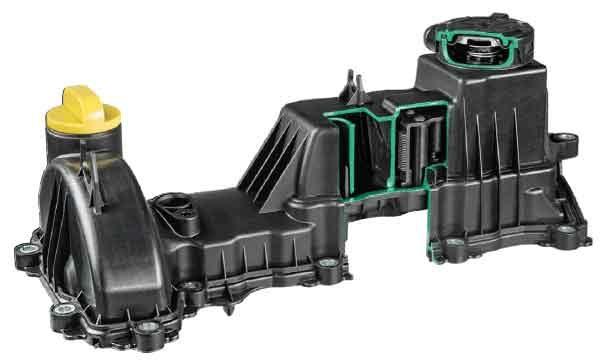 Вентиляция (фильтрация) картерных газов - система MANN + HUMMEL