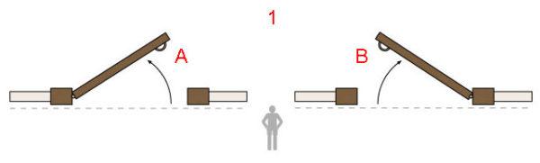 Двери входные и межкомнатные - открывание внутрь