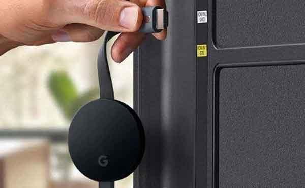 Подключение смартфона к телевизору через Chromecast