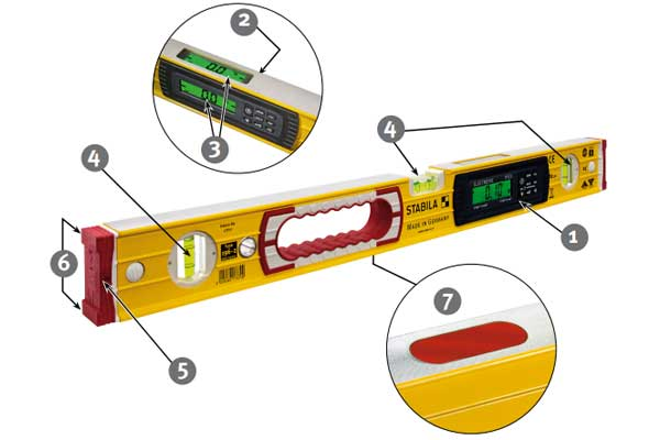Цифровой строительный уровень - детальный расклад конструкции