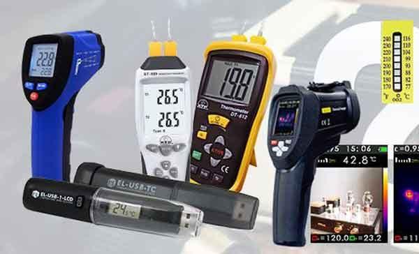Бесконтактные термометры в разнообразном исполнении
