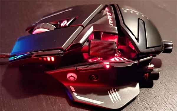 Мыши игровые: модель Mad Catz The Authentic R.A.T. 8+