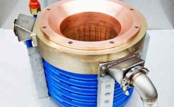 Индукционный тигель с холодными стенками - технология плавки металлов