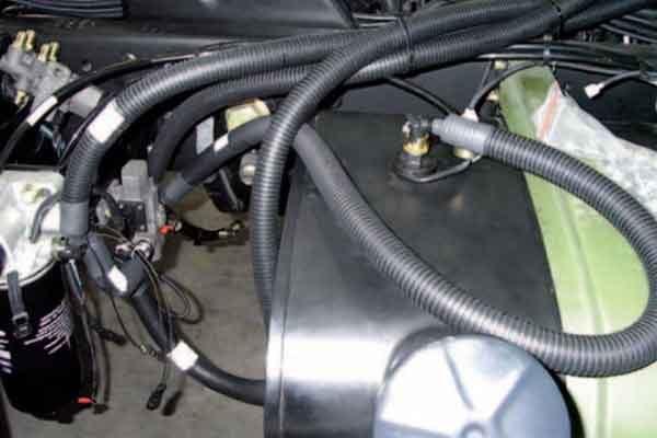 Топливопроводы: малоэкстрагируемые многослойные трубки топливных систем