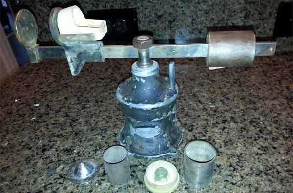 Точное литьё по выплавляемым моделям - пружинная центробежная машина