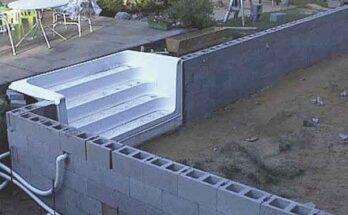 Как построить плавательный бассейн на основе блоков Бессера?
