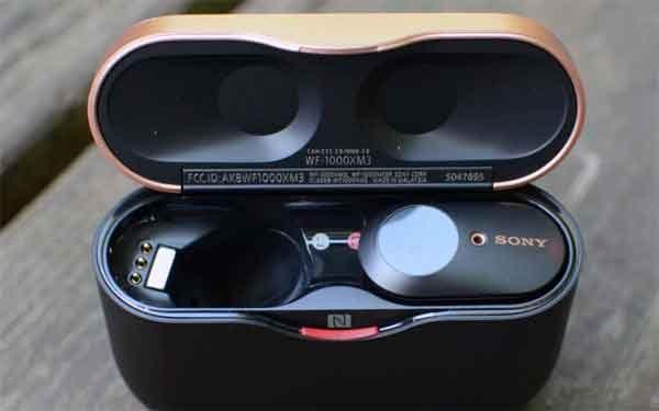 Наушники Sony WF-1000XM3 + система подавления шума