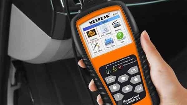 Сканер для автомобиля модель Nexpeak OBD2 NX501