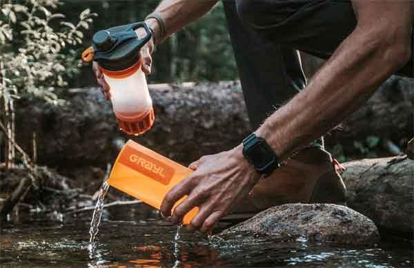 Фильтры воды - мобильный вариант Grayl GeoPress Purifier