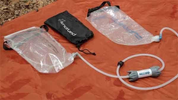 Фильтры воды - система очистки Sawyer Squeeze Water Filtration System