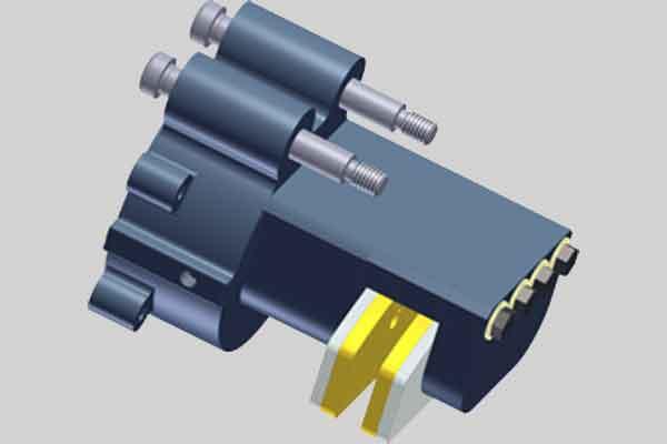 Тормоз ветрогенератора - гидравлический модуль тормозной системы