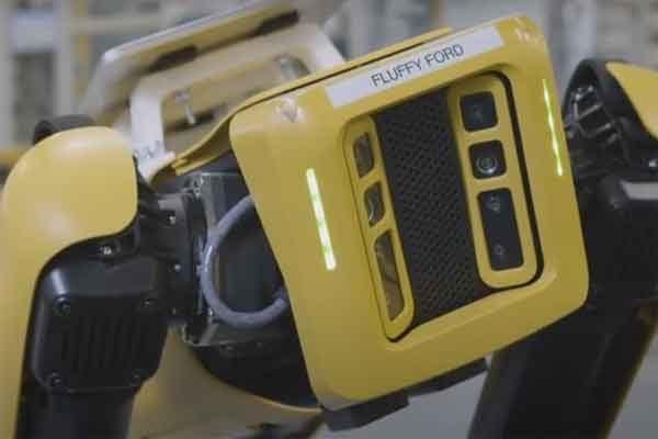 Собаки-роботы помогли компании Ford провести модернизацию завода