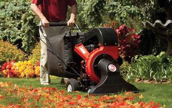 Пылесос для листьев - производительная машина под большие территории