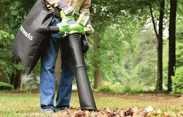 Пылесос для листьев - модель Greenworks-24322