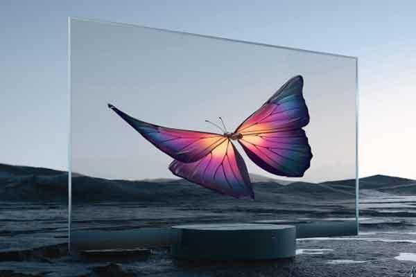 Телевизор Mi TV Lux Transparent Edition как подарок фирмы Xiaomi